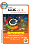 Learn Microsoft Excel 2013 Interactive Training CD Course