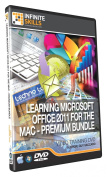 Discounted Bundle - Microsoft Office For The Mac Training DVD - Tutorial Video