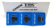 Canon P170-DH Calculator Black and Red Cannon Ink Roll Replaces Canon's CP13 Inc Roll ***FRESH PACKAGE OF THREE(3) Ink Rolls