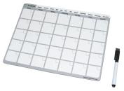 ProMAG 22cm x 28cm Monthly Dry Erase Magnetic Calendar