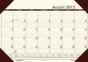 House of Doolittle Eco Tone Academic Desk Pad Calendar, 2015 - 2016 Academic Year, Cream, 33cm x 47cm