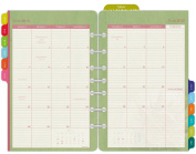 Day-Timer Flavia Monthly Desk-Size Planner Refill 2015, 14cm x 22cm Page Size
