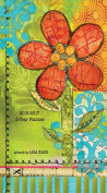 Lang Wells Street Embrace The Day 2016 2- Year Planner by Lisa Kaus, January 2016 to December 2017, 8.9cm x 16cm