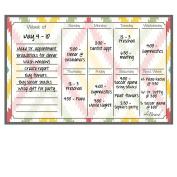 Dry Erase Magnet Weekly Calendar Aztec