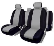 FUK10410 - Set complete car seat covers Sevilla, Blacks-Grey