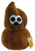 25cm Comical Egg Soft Toy - Brown Comical Egg - 6 To Collect - TV Toys -
