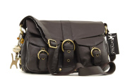 Catwalk Collection Leather Cross-Body Bag - Louisa