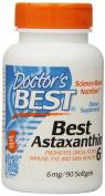 Best Astaxanthin 6, 6 mg, 90 Softgels - Doctor's Best - UK Seller