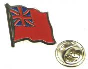 Merchant Navy Red Ensign Lapel Pin Badge