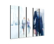High Speed World 5 x 30 x 120 CM XXL extra Large 5-Piece Picture on Canvas and Stretcher Frame, Ready to Hang-Our Images on Canvas captivate with their unusual formats and extremely detailed print from up to 100 Mega Pixel High Resolution photos.