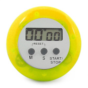 Sonline Digital Magnetic LCD Timer Stop Watch Kitchen Cooking Countdown - Yellow