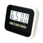 Utility Mini Electronic Digital Timer Kitchen Timer, Black