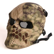 Tactical Airsoft Full Face Protection Mask Hunting Shooting Party Mask Highland