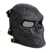Tactical Airsoft Full Face Protection Mask Hunting Shooting Party Mask Police