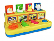 Pop Up Farmyard Friends Hammer Baby Toy - Suitable From  .
