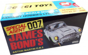Corgi - James Bond- Aston Martin DB5 - 04204 Silver - in 1965 replica display box