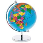 Medium Desktop Blue WORLD GLOBE - School / Classroom / Educational Toy / Geography Resource - 27cm