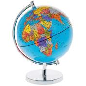 Desktop Blue WORLD GLOBE - School / Classroom / Educational Toy / Geography Resource - 21cm
