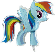 My Little Pony Rainbow Foil Balloon 80cm