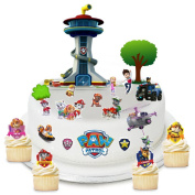 Paw Patrol Edible Wafer Paper Cake Toppers