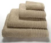 linenHall 650gsm Plain Dye Bath Towel Natural
