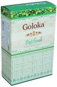 Goloka Patchouli Incense, 15 Gms x 12 Packs