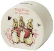 Beatrix Potter Beatrix Potter Flopsy Mopsy and Cotton Tail Money Bank