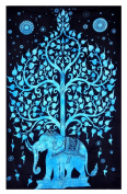 Indian Tapestry Wall Hanging Bohemian Nature Dorm Room Wall Tapestry Full Siz...