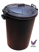 85L 85 Litre Plastic Bin Ideal for Rubbish / Food Storage / Recycling / Waste with Lockable Handles
