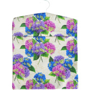 Spring Summer Flowers Print Large Laundry Peg Bag with Wooden Hanger