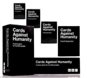 CARDS AGAINST HUMANITY Card Game MAIN SET + EXPANSION PACKS 1+2+3+4+5