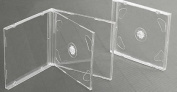 Vision Media 25 X Double Clear CD Jewel Case