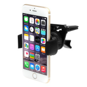 iKross Air Vent Car Vehicle Mount Holder for for for for for for for for for for Samsung Galaxy S6, S6 Edge, S5, A5, A3, Galaxy Note 4, Galaxy Note 3, LG G4, G3, iPhone 6 and Other Cell Phone, Mega Smartphone up to 15cm Screen