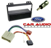 Ford Fiesta - Fusion 2002 - 2005 models Full Stereo Fitting Kit. Kit includes Facia panel, Wiring ISO lead and Aireal Adaptor