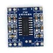 2-Channel Stereo Class 3W Digital Audio Amplifier D Type Mini Board DC 5V