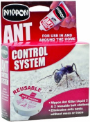 Nippon Ant Control System with 2 Traps and 25g Ant Killer Liquid