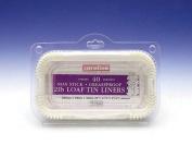 Caroline Packaging Loaf Tin Liners (40) 0.9kg