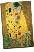 Large Gustav Klimt Kiss Canvas Art Print Poster 80cm x 50cm A1