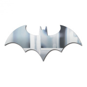Batman Logo Mirror, Clear