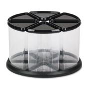 Deflect-o Carousel Storage Tidy 6 Crystal Tubs