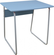 Harbour Housewares Computer, Laptop Wooden Desk - Blue