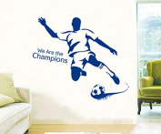 Revesun Football Game Home Décor Wall Sticker Paper Stickers For Kids Living Room