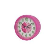 HIGH QUALITY LORUS TIME TEACHER BEDSIDE BEEP ALARM CLOCK PINK CHILDREN KIDS GIRLS