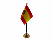 Spain Crest Hand Table or Waving Flag Country Spanish - No Base