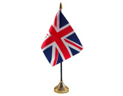 Union Jack Hand Table or Waving Flag - Great Britain - Team GB - No Base