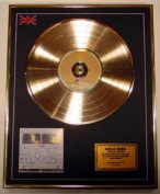 Bob Marley & The Wailers Gold Disc Record Limited Edition/Babylon By Bus