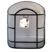 De Vielle GUD048711 Premium Fireguard Heavy Duty Dome Spark Fire Guard Black