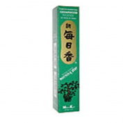 Cedarwood Morning Star Quality Japanese Incense by Nippon Kodo - 50 Sticks + Holder