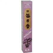 Fig Morning Star Quality Japanese Incense by Nippon Kodo - 50 Sticks + Holder