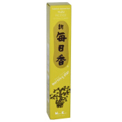 Yuzu Morning Star Quality Japanese Incense by Nippon Kodo - 50 Sticks + Holder
